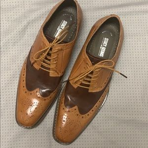 Stacy Adams Tinsley wingtip dress shoes